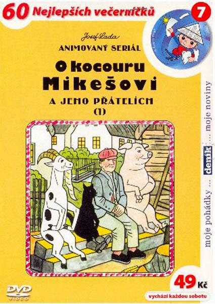 O kocouru Mikešovi a jeho přátelích 1 - DVD
