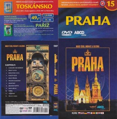 Krásy Čech, Moravy a Slezska 15 - Praha - DVD