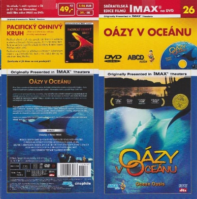 IMAX - 26 - Oázy v oceánu - DVD