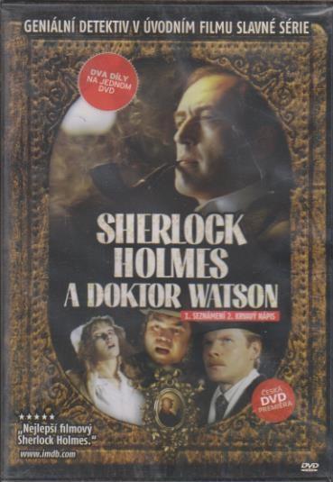 Sherlock Holmes a doktor Watson (1.Seznámení 2.Krvavý nápis) - DVD