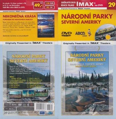 IMAX - 29 - Národní parky Severní Ameriky - DVD