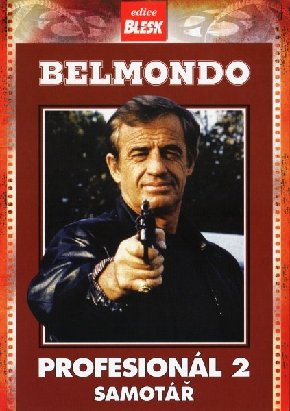 Belmondo - Profesionál 2 - Samotář - DVD