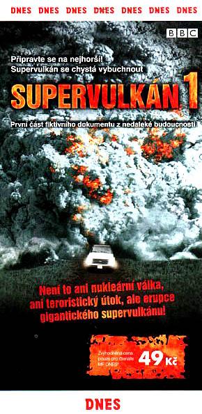 Supervulkán 1 - DVD
