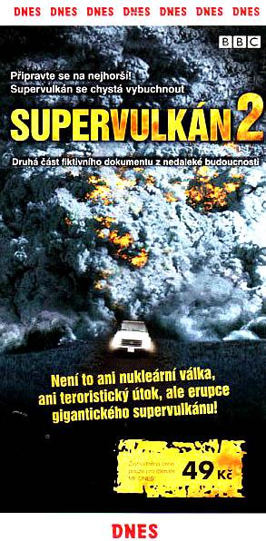 Supervulkán 2 - DVD
