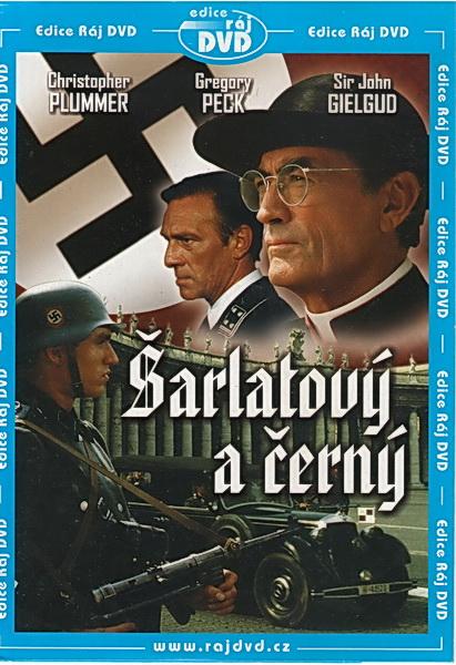 Šarlatový a černý - DVD