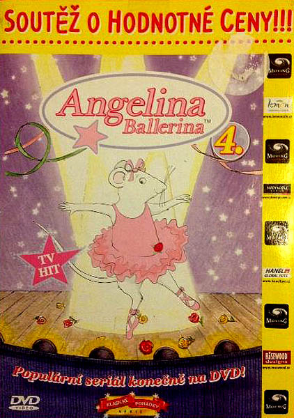 Angelina Ballerina 4 - DVD
