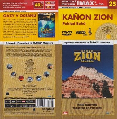 IMAX - 25 - Kaňon Zion - DVD