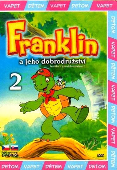 Franklin a jeho dobrodružství 2 ( pošetka ) - DVD