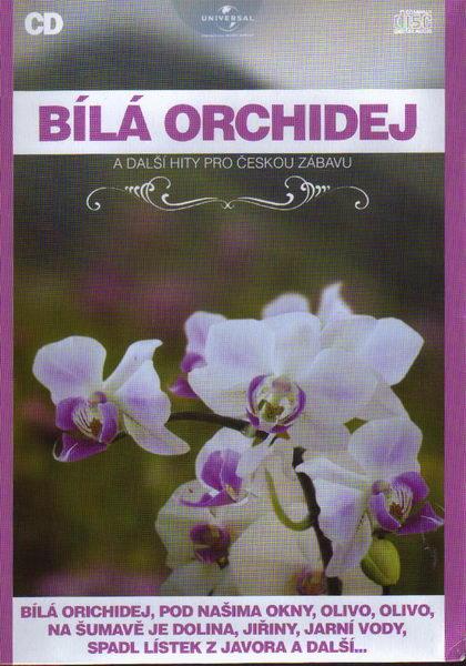Bílá orchidej - CD