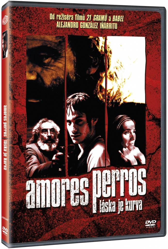 Amores perros - Láska je kurva - DVD