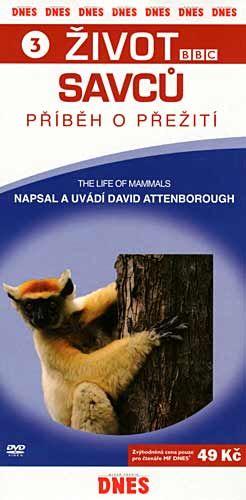 Život savců 3 - DVD