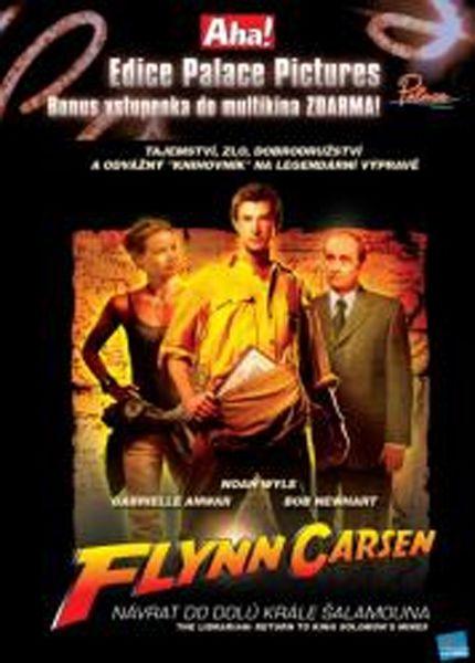 Flynn Carsen 2: Návrat do dolů krále Šalamouna - DVD