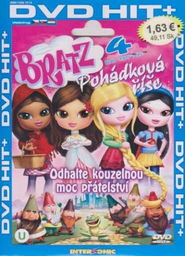 Bratz 4 - Pohádková říše - DVD