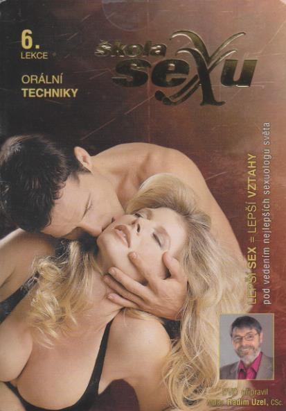 Škola sexu 06 - Orální techniky - DVD