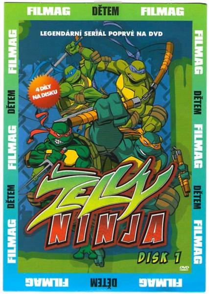 Želvy Ninja - 3 - DVD