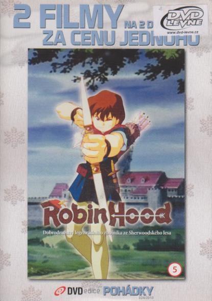 Robin Hood + Zorro mstitel - DVD