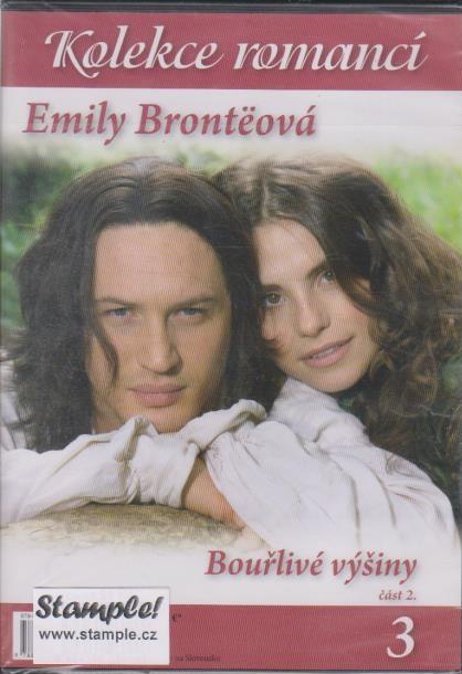 Bouřlivé výšiny - část 2. - Kolekce romancí 3 - Emily Brontëová ( slim ) DVD
