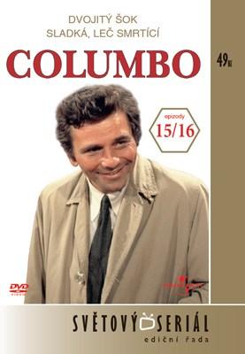 Columbo 15/ 16 - Dvojitý šok/ Sladká, leč smrtící - DVD