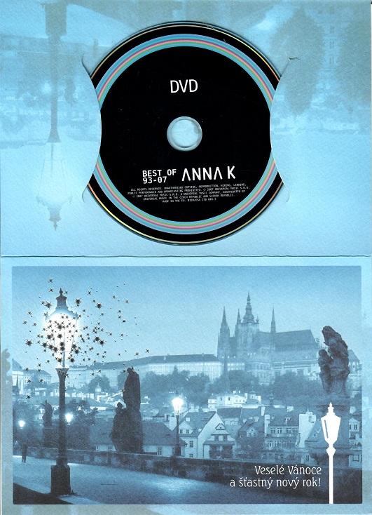 Anna K - Best of 93-07 ( dárkový papír obal ) - DVD