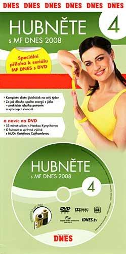 Hubněte s MF Dnes 2008 - 4. DVD - Hanka Kynychová