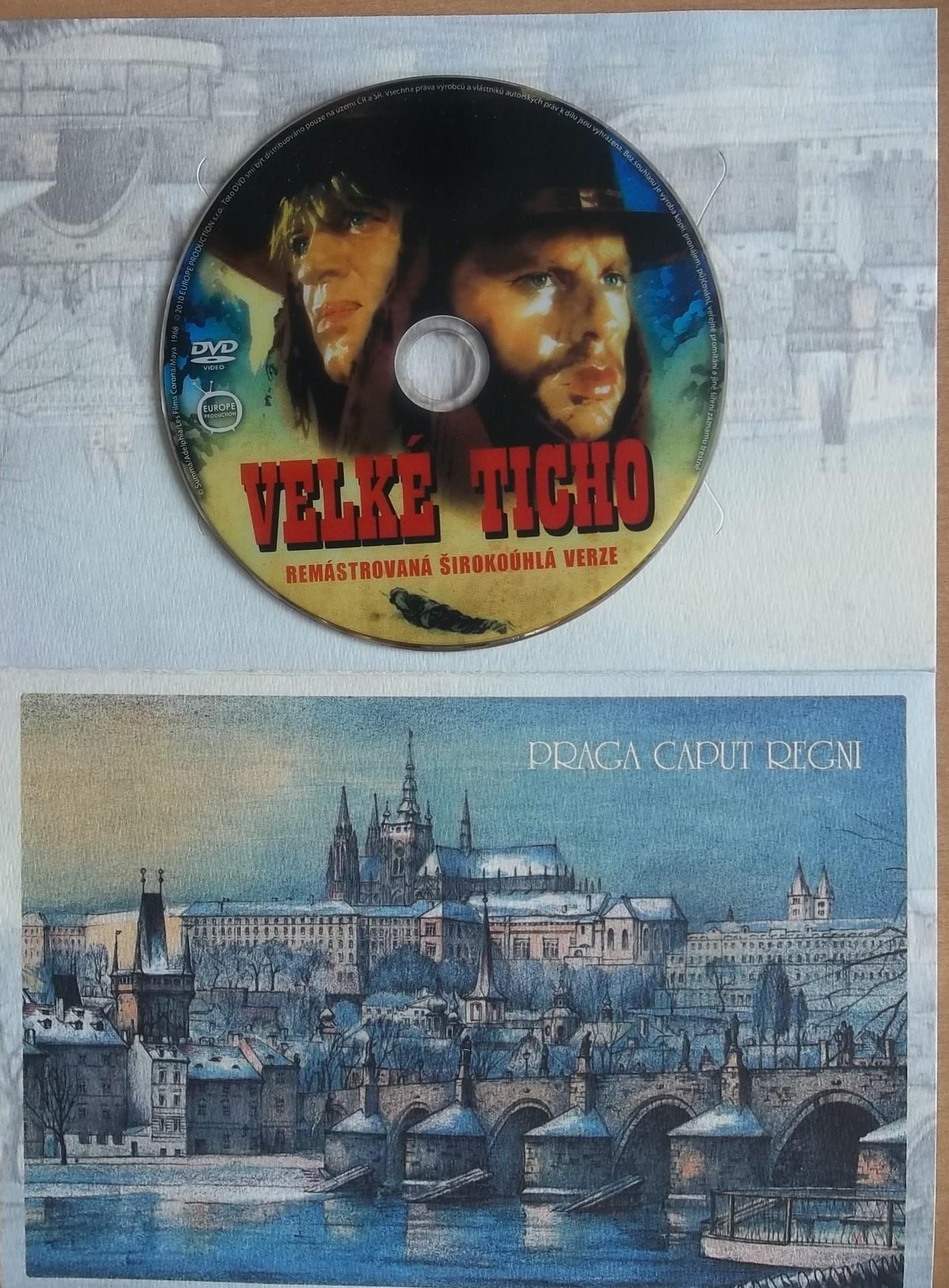 Velké ticho - dárková obálka - DVD