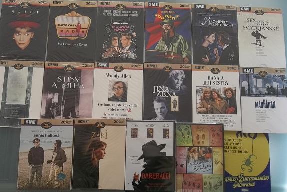 Woody Allen kolekce 17 DVD