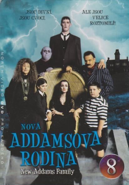 Nová Addamsova rodina 8 - DVD