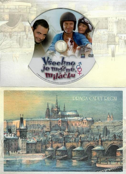 Všechno je možné miláčku ( dárkový papír obal ) - DVD