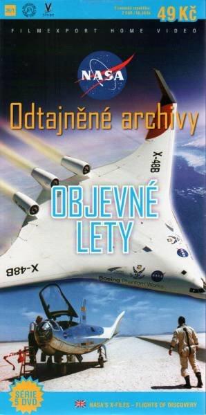 NASA Odtajněné archivy - Objevné lety - DVD
