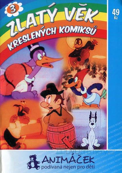 Zlatý věk kreslených komiksů 3 - DVD