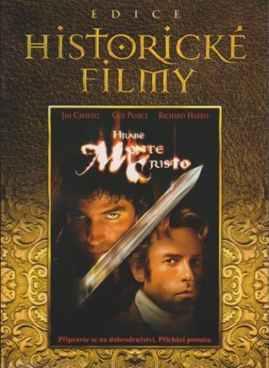 Hrabě Monte Christo (Edice Historické filmy) - DVD