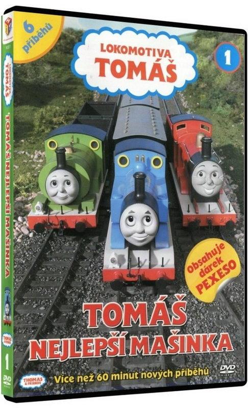 Lokomotiva Tomáš - Tomáš nejlepší mašinka - DVD