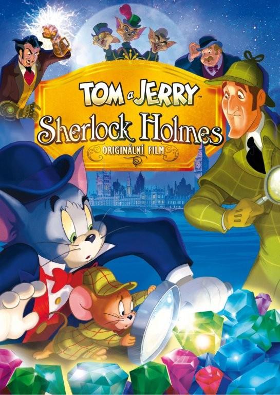 Tom a Jerry: Sherlock Holmes - DVD