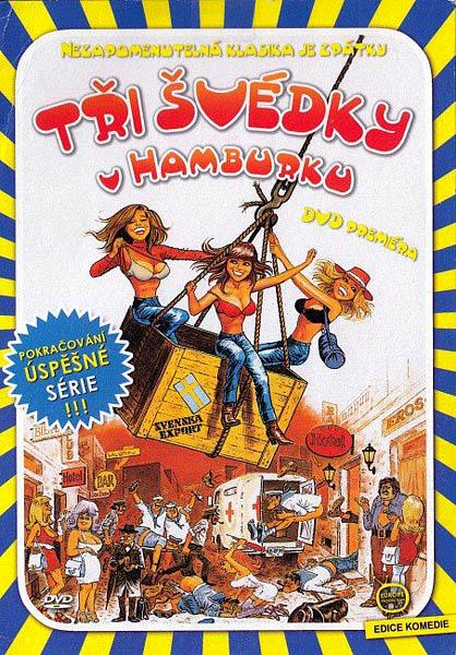Tři švédky v Hamburku - DVD