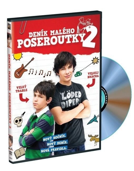 Deník malého poseroutky 2 - DVD