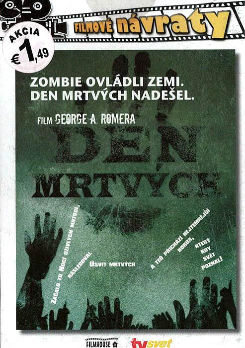 Den mrtvých - DVD pošetka