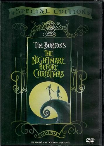 Ukradené Vánoce Tima Burtona / The nightmare before christmas ( originální znění s CZ titulky ) - DVD