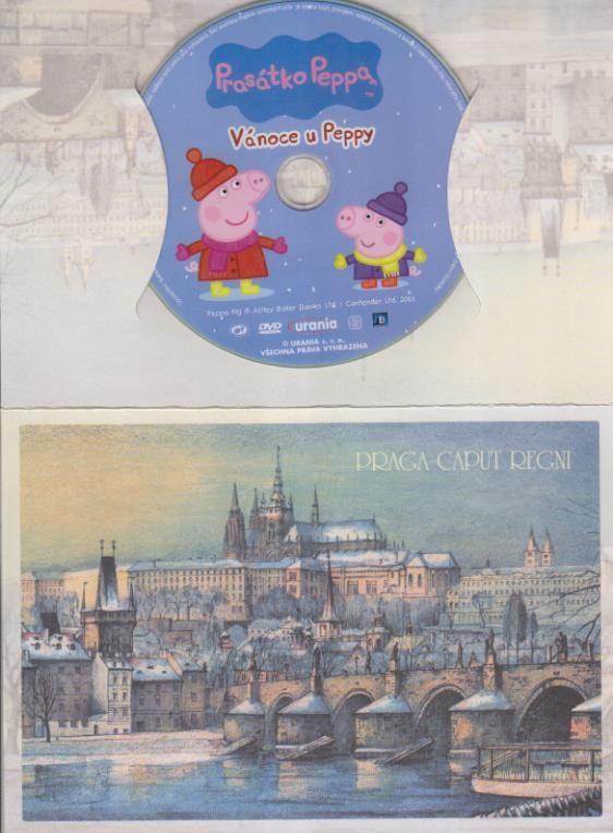 Prasátko Peppa - Vánoce u Peppy - DVD
