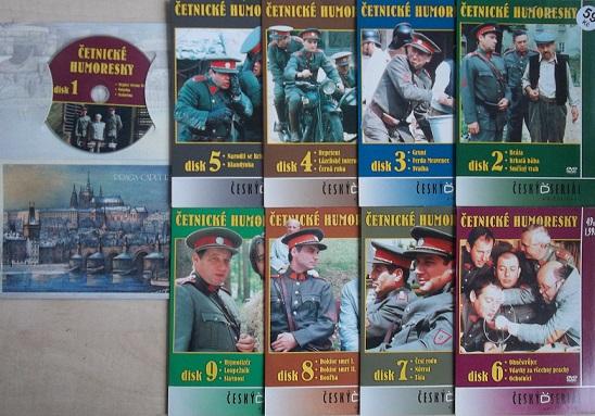 Četnické humoresky Kolekce 9 DVD
