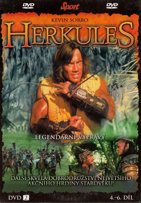 Herkules - Legendární výpravy 2 - DVD
