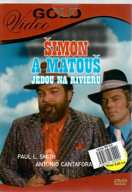 Šimon a Matouš jedou na riviéru - DVD