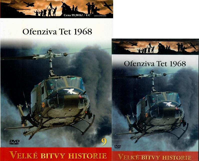 Velké bitvy historie 9 - Ofenziva Tet 1968 (Časopis + DVD )