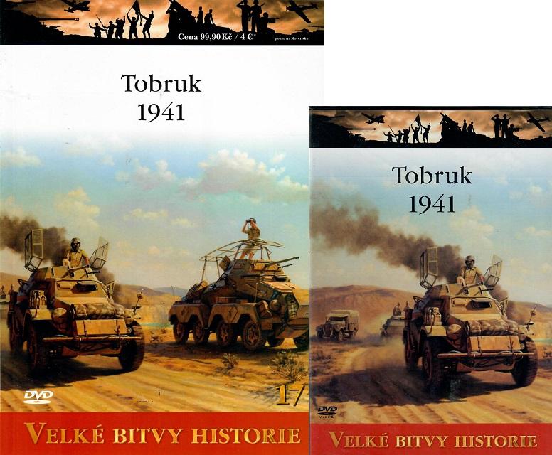 Velké bitvy historie 17 - Tobruk 1941 ( Časopis + DVD )