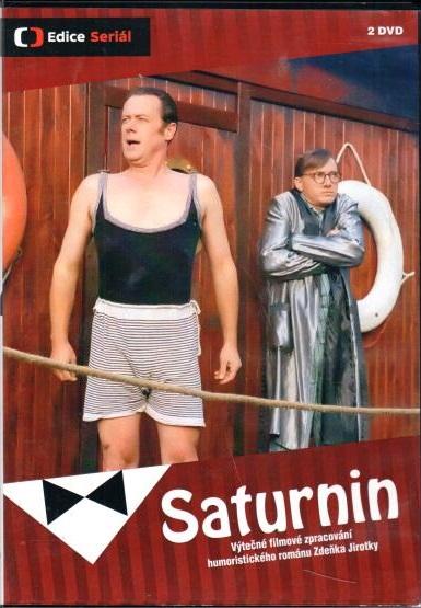Saturnin - 2 DVD plast