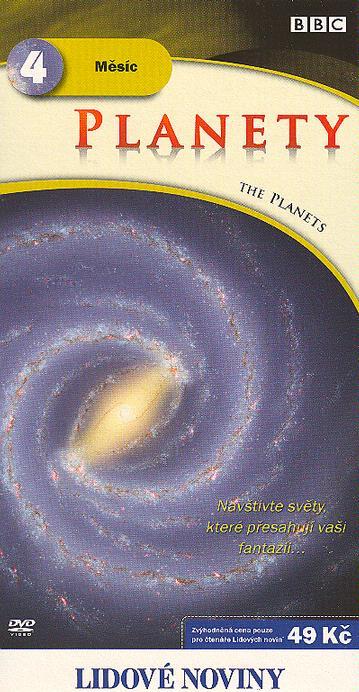Planety 4 - Měsíc - DVD