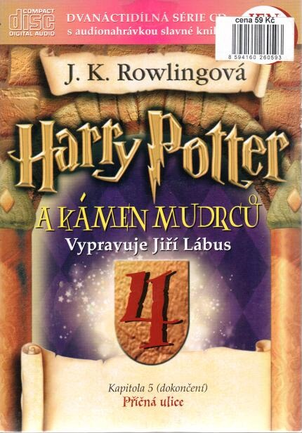 Harry Potter a Kámen mudrců 4. - CD