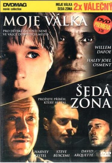 Moje válka / Šedá zóna - DVD plast