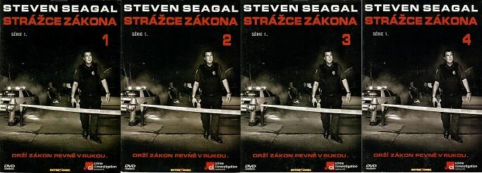 Kolekce Strážce zákona 4 DVD
