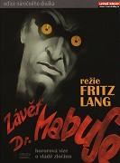Závěť doktora Mabuse (digipack)  - DVD
