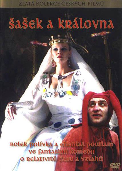 Šašek a královna - DVD pošetka